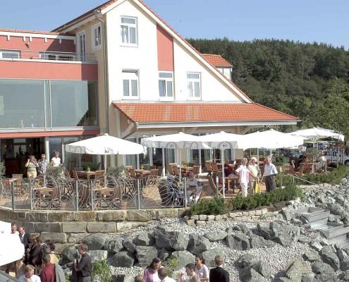 Ehrenbuerg Gastronomie - Terrasse